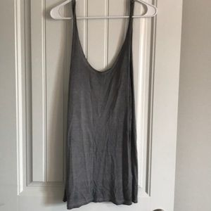 Leith size small low back tank top